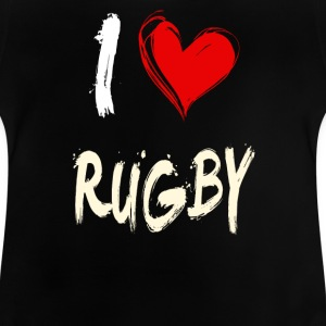 I love rugby - Baby T-Shirt