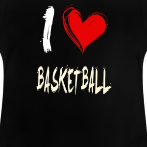 J'adore le basket-ball - T-shirt Bébé