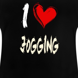 I love jogging - Baby T-Shirt