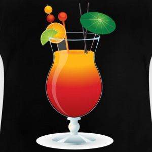 Summer Cocktail tid! - Baby-T-skjorte