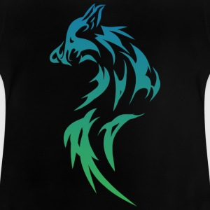 Wolf - Tribal - Baby T-Shirt
