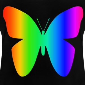 arc-en-papillon - T-shirt Bébé