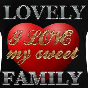 sweet_family - Baby T-shirt