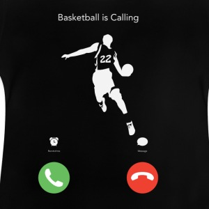 Basketball ruft! - Baby T-Shirt