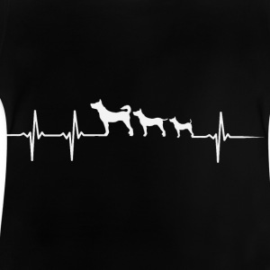 Heartbeat Dog - Baby T-Shirt