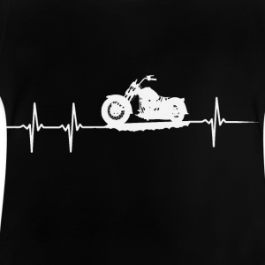 My heart beats for Motorcycles - Baby T-Shirt