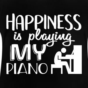 I Love My PIANO - Baby T-Shirt