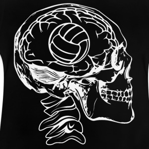 Volleyboll i huvudet - Baby-T-shirt