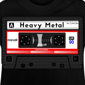 HEAVY METAL KASSETT - Baby-T-shirt