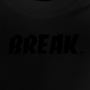 svart BREAK - Baby-T-shirt