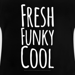 Fresh Funky Koel wit - Baby T-shirt