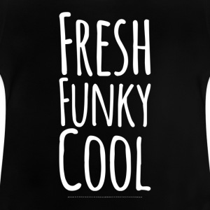Färsk Funky Cool white - Baby-T-shirt