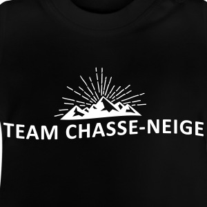 Team snöplog - Baby-T-shirt
