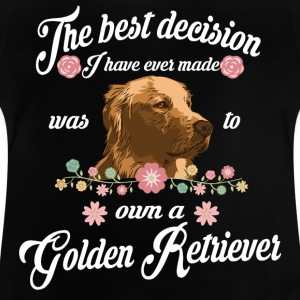 golden Retriever - Baby-T-skjorte