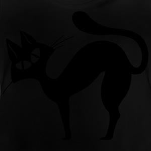 Black cat - Baby T-Shirt