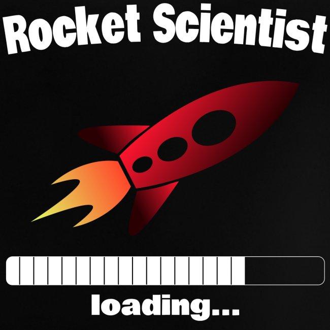 Rocket Scientist loading... Baby Motiv