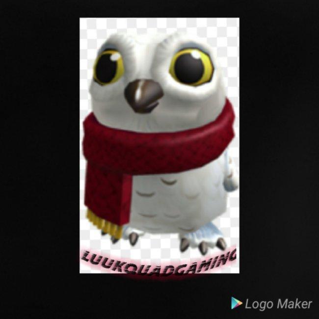 Merch white snow owl