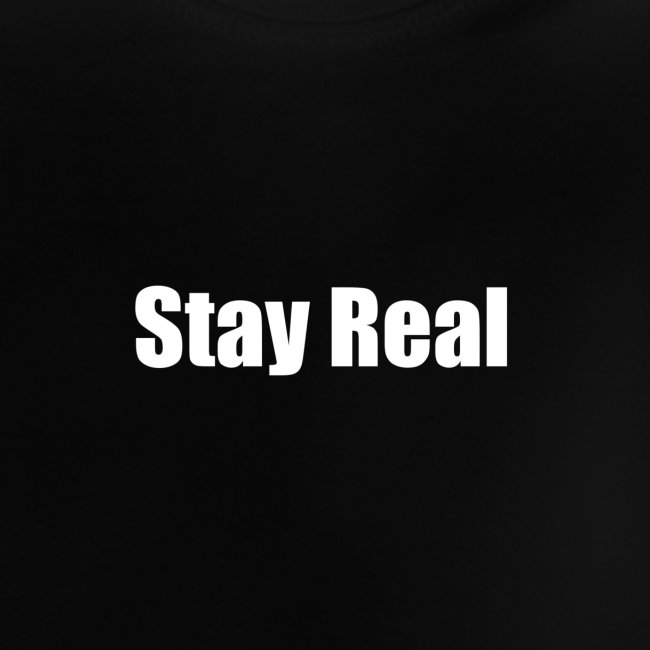 Stay Real White