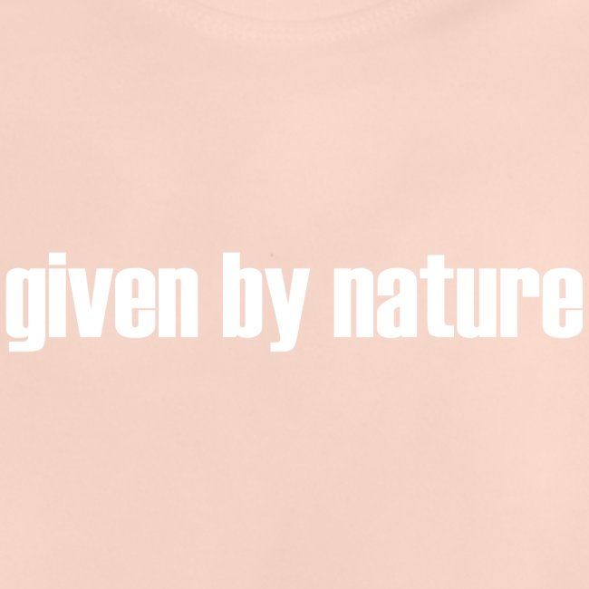 given by nature white