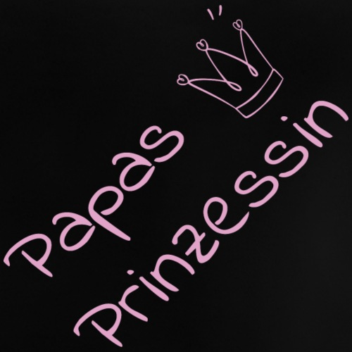 papasPrinzessin - Baby T-Shirt