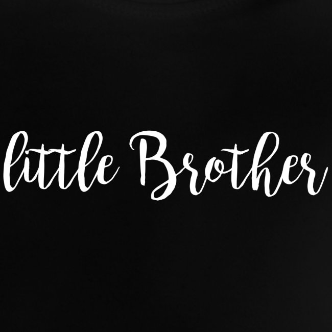 white on transparent little brother png