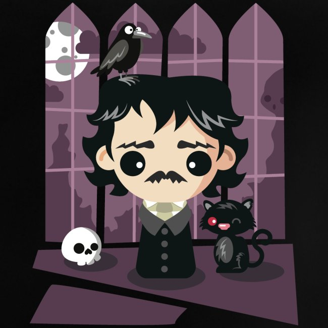 A damned Poe-t's house
