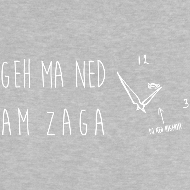 Vorschau: Geh ma ned am Zaga - Baby T-Shirt