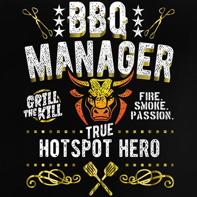 Geschenkidee: Grillshirt BBQ Manager