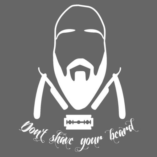Don't shave your beard - Vauvan t-paita