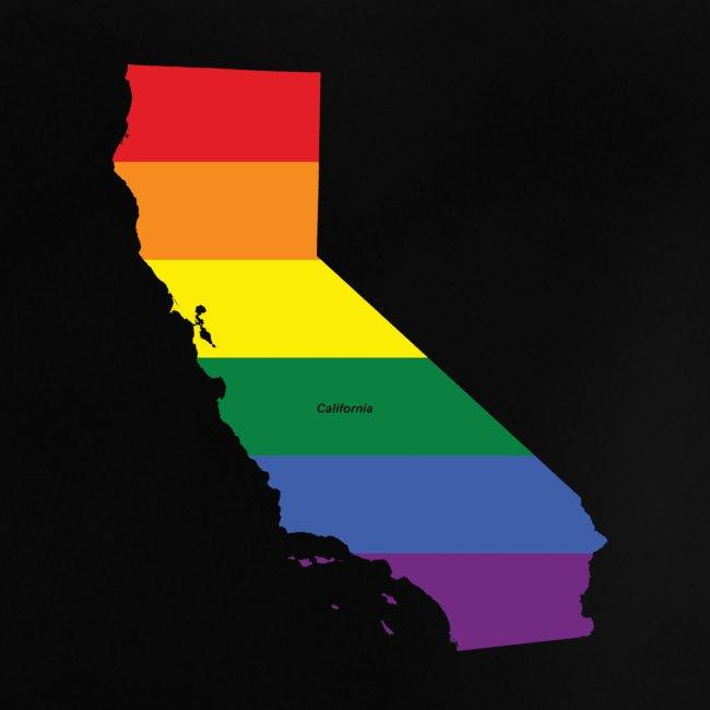 California Rainbow Flag