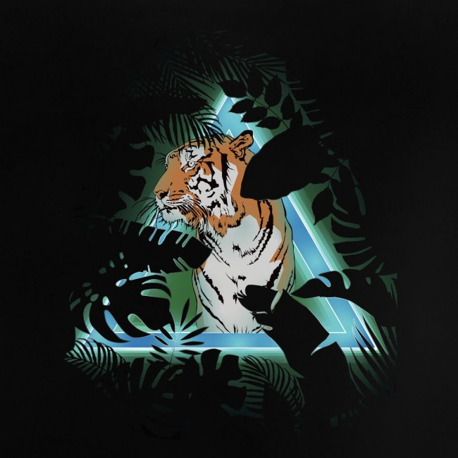 Tigre en soirée