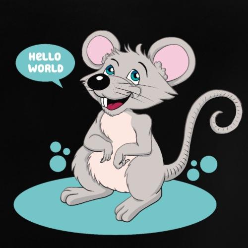 Kleine Maus als Geschenk zur Geburt - Baby T-Shirt