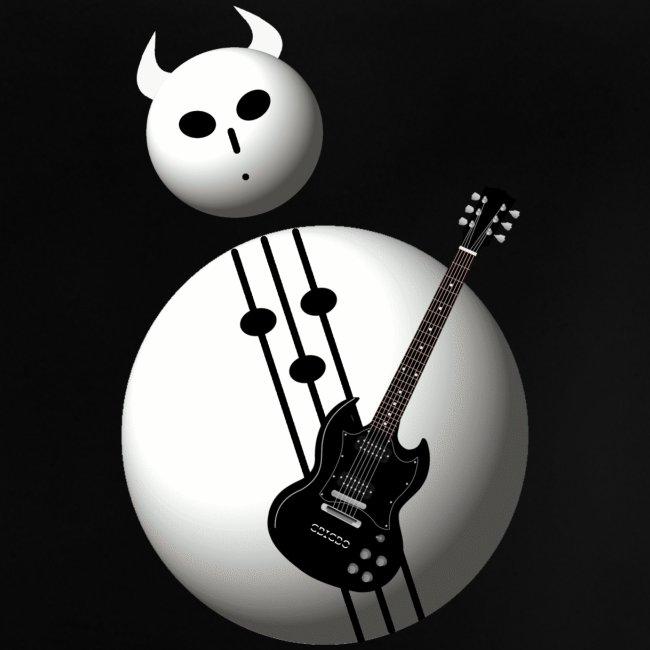 GBIGBO zjebeezjeboo - Rock - Bonhomme de neige en métal D-major