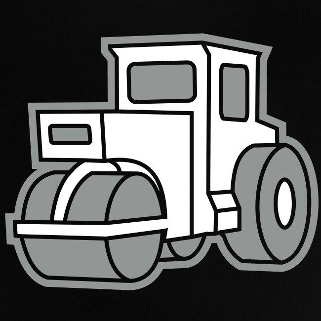 2 col - Dampfwalze Traktoren Steam-powered rollers