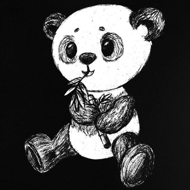 Panda Bär weiß scribblesirii