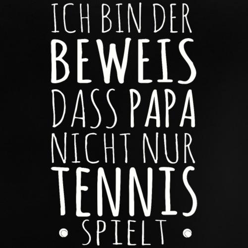 Tennis Papa Baby Beweis Vater Shirt Geschenk - Baby T-Shirt