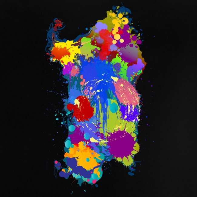 Sardegna Silhouette Paint