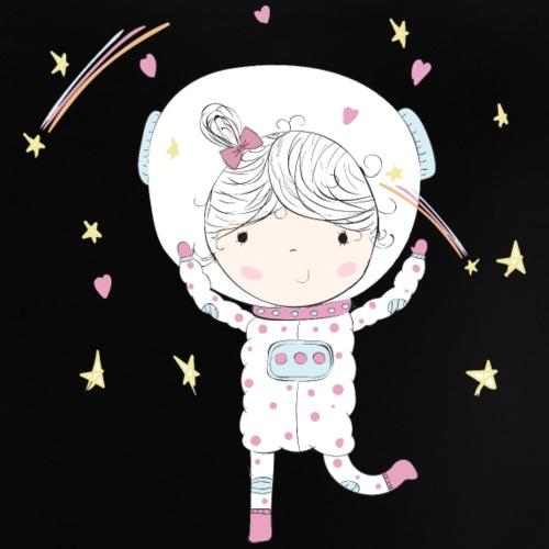 Mi pequeña astronauta - Camiseta bebé