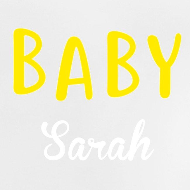 baby sarah black design