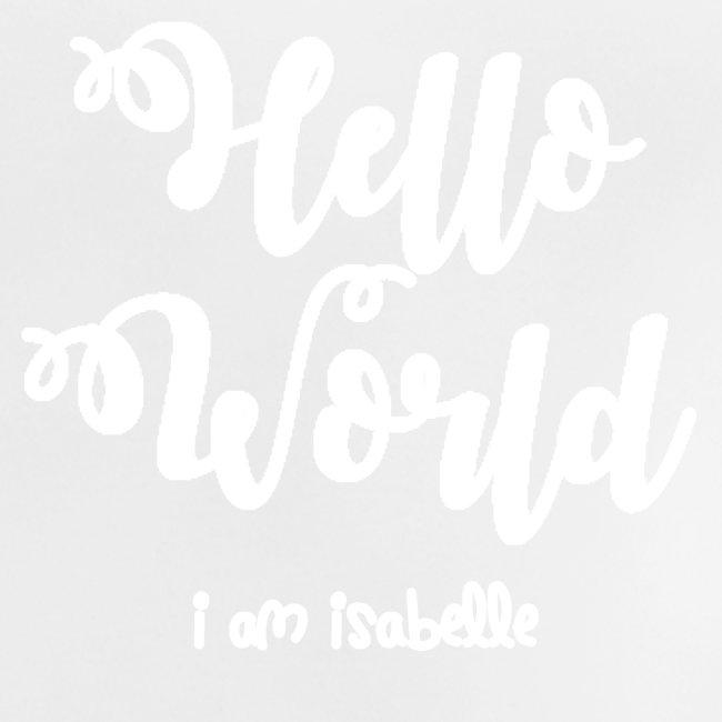 hello world new white design
