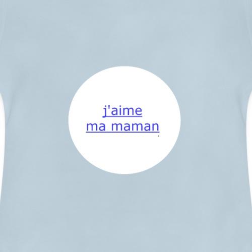 Bébé (garçon) j'aime ma maman - T-shirt Bébé