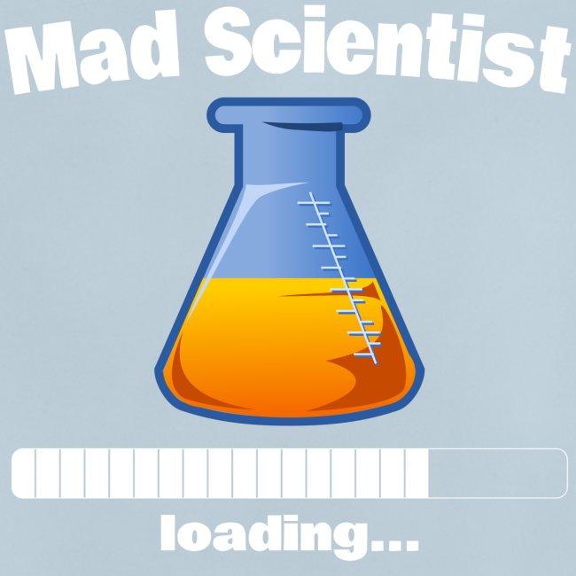 Mad Scientist loading... Baby Motiv