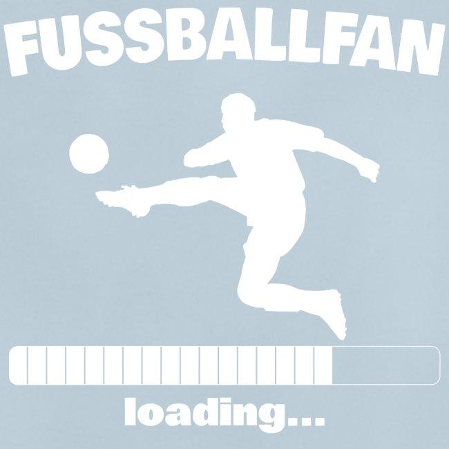 Fussballfan loading... Baby Motiv