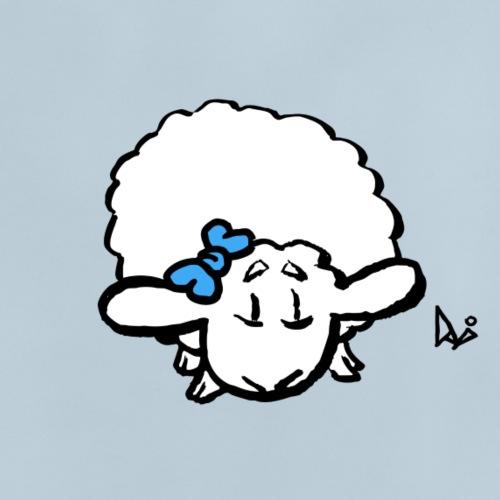 Corderito (azul) - Camiseta bebé