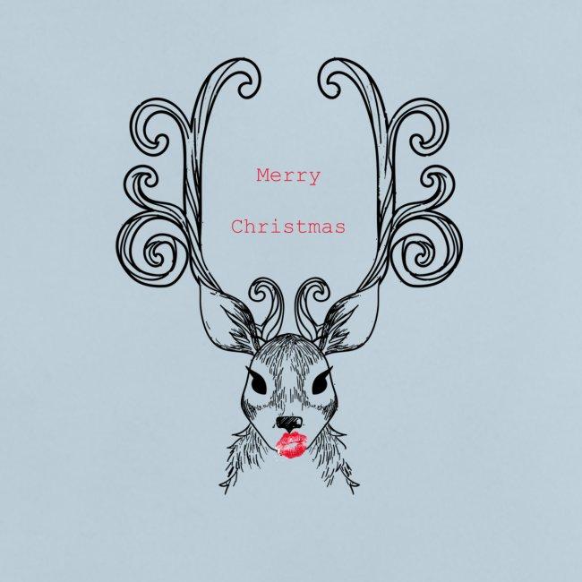 Cerf Merry Christmas