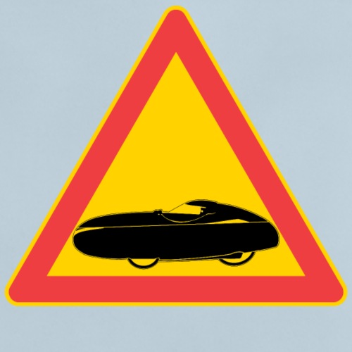 Traffic sign velomobile - Vauvan t-paita