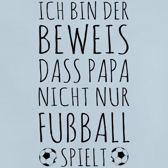 Baby Papa Fußball spielen Geschenk