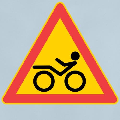 Traffic sign Recumbent - Vauvan t-paita