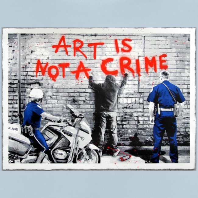 Art I not a crime