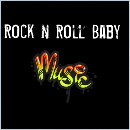Rock n Roll Baby - Baby T-Shirt